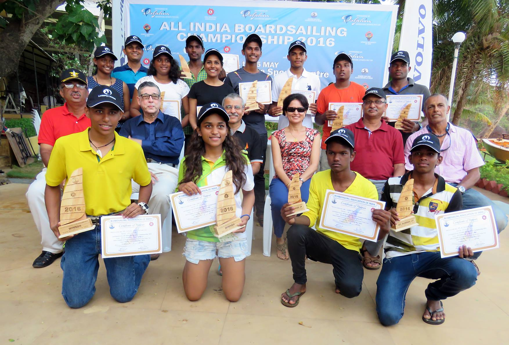 Goa yachting association national windsurfing champ
