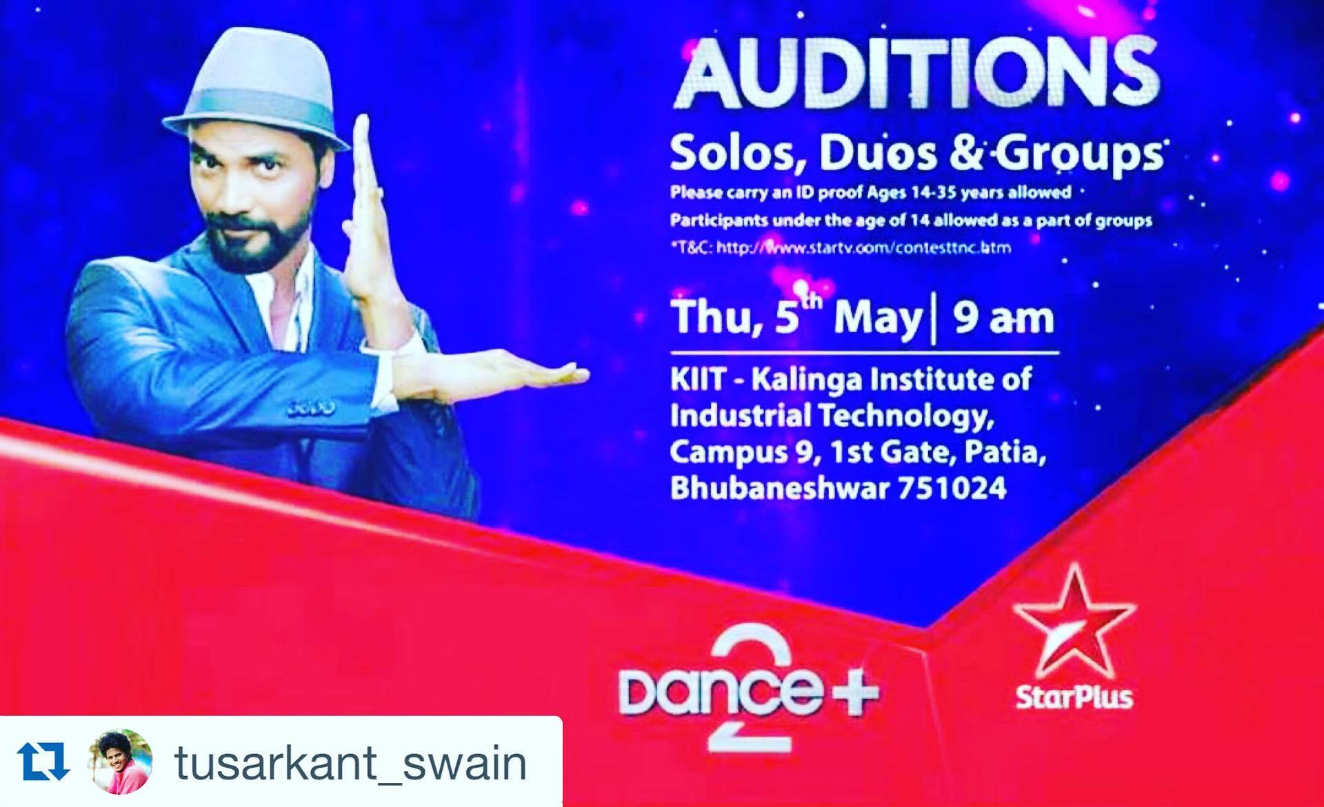 Star plus Dance plus audition bhubaneswar buzz2