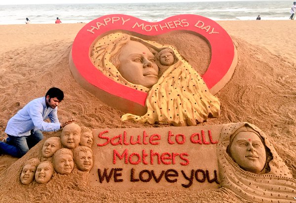 happy mothers day sandart sudarshan