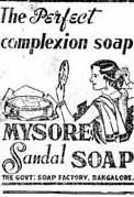mysore sandal soap 100 years