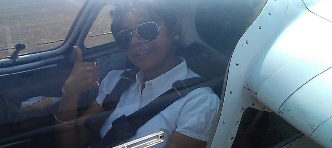 Trained in Texas USA and Phillipines Odisha girl Shelvi Mishra now Commercial Pilot in Air Asia