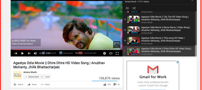 Agastya Movie Song by Ananya Nanda winner of Indian Idol Junior crossed 100,000 views in 2 weeks