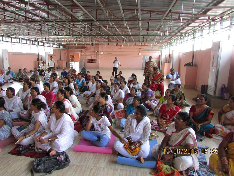Free Yoga Camp at Kanyaka Parameswari Temple, Khaspa street Berhampur_Pic 1