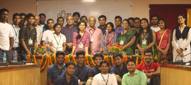 Odia Wikipedia editor community celebrates in Bhubaneswar as the project turned 14