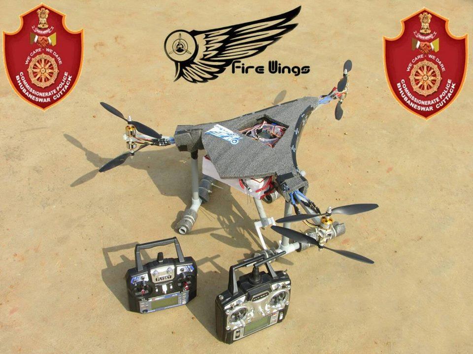 Odisha police Drones firewings
