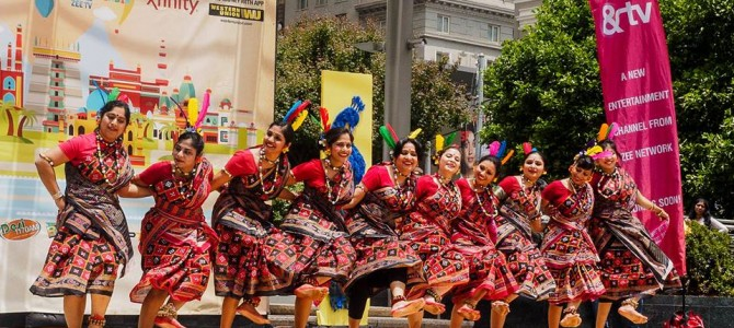 When the sound of Rangabati was all over San francisco USA part of Spring India day celebration