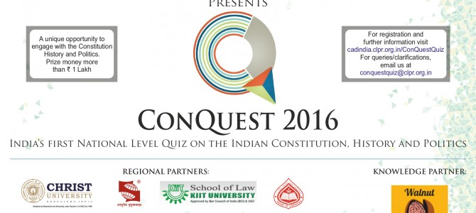 Bhubaneswar to host ConQuest, India's first national level quiz on Indian Constitution eastern zone