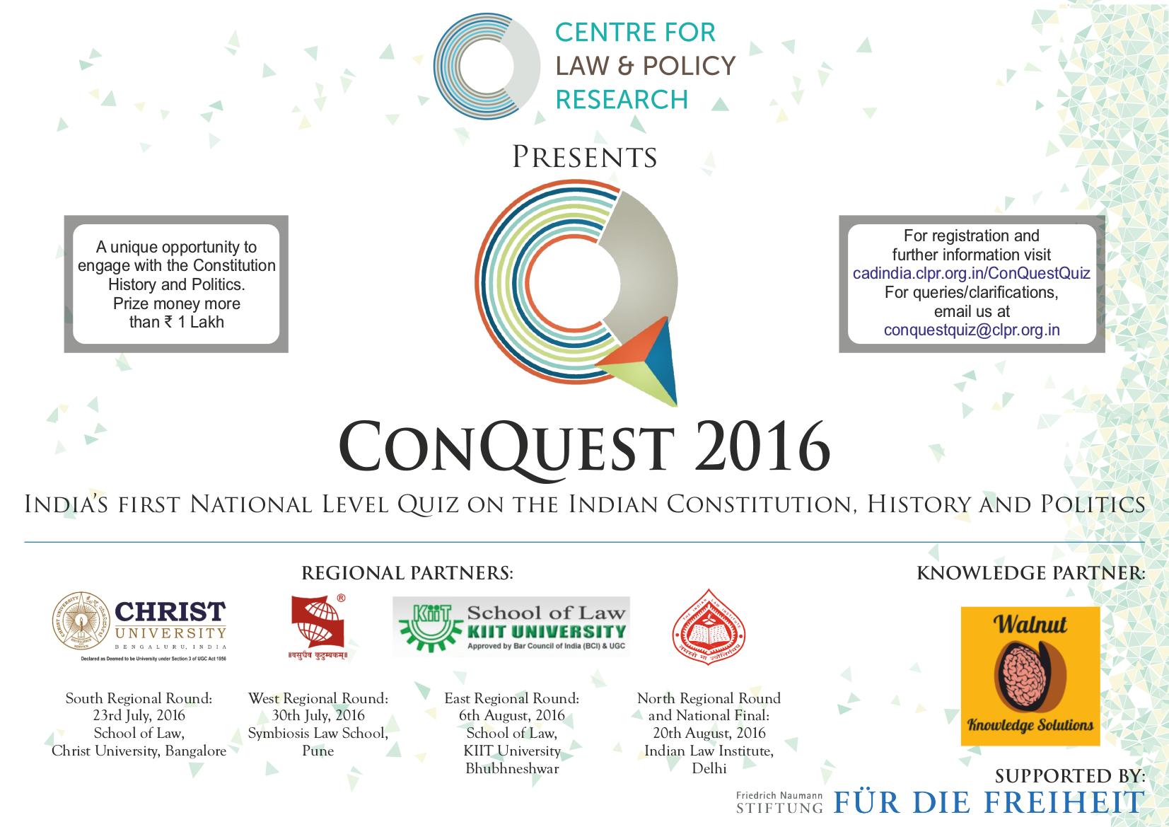 Conquest quiz india bhubaneswar buzz