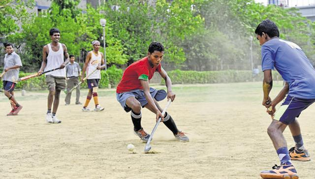 Hockey practice odisha migrant hindustan times