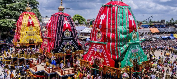 A 10 minute primer to Jagannath Culture and Ratha Jatra by Sambeet Dash