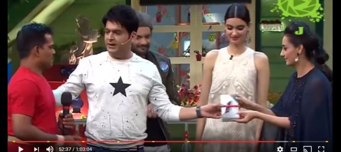 Record Holder Keshab Swain of Odisha gets featured in Kapil Sharma Show on Sony TV