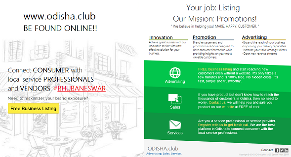 odisha club startup bhubaneswar buzz