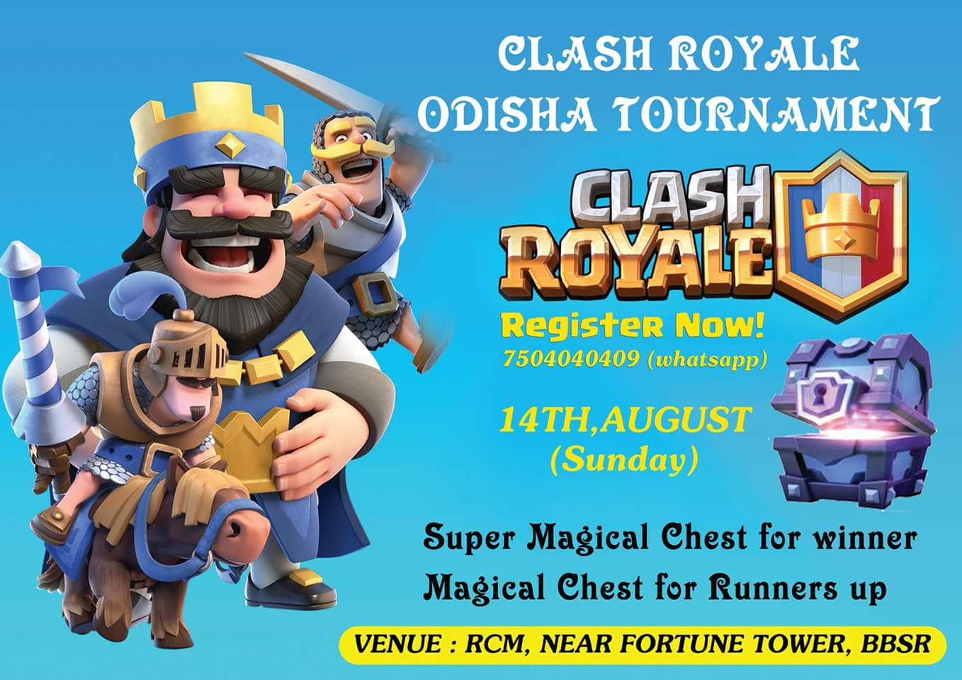 Clash royale tournament bhubaneswar buzz