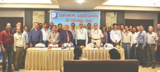 First Indian and Odia to be Director International Maritime Organization Ashok Mahapatra felicitated in city