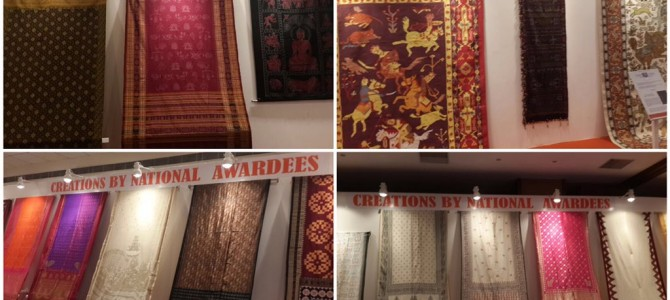 Weavers from Odisha, Gujarat hog limelight in Varanasi on National Handloom Day