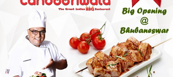 Coming Soon in Bhubaneswar: Tandooriwala The Great Indian Barbecue Restaurant Chain