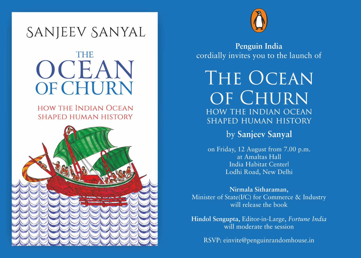 The ocean of Churn  Sanjeev Sanyal bbsrbuzz