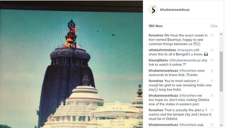 Convince iran tourist to visit odisha instagram 1