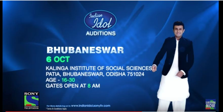 Indian Idol auditions 2016 bhubaneswar buzz