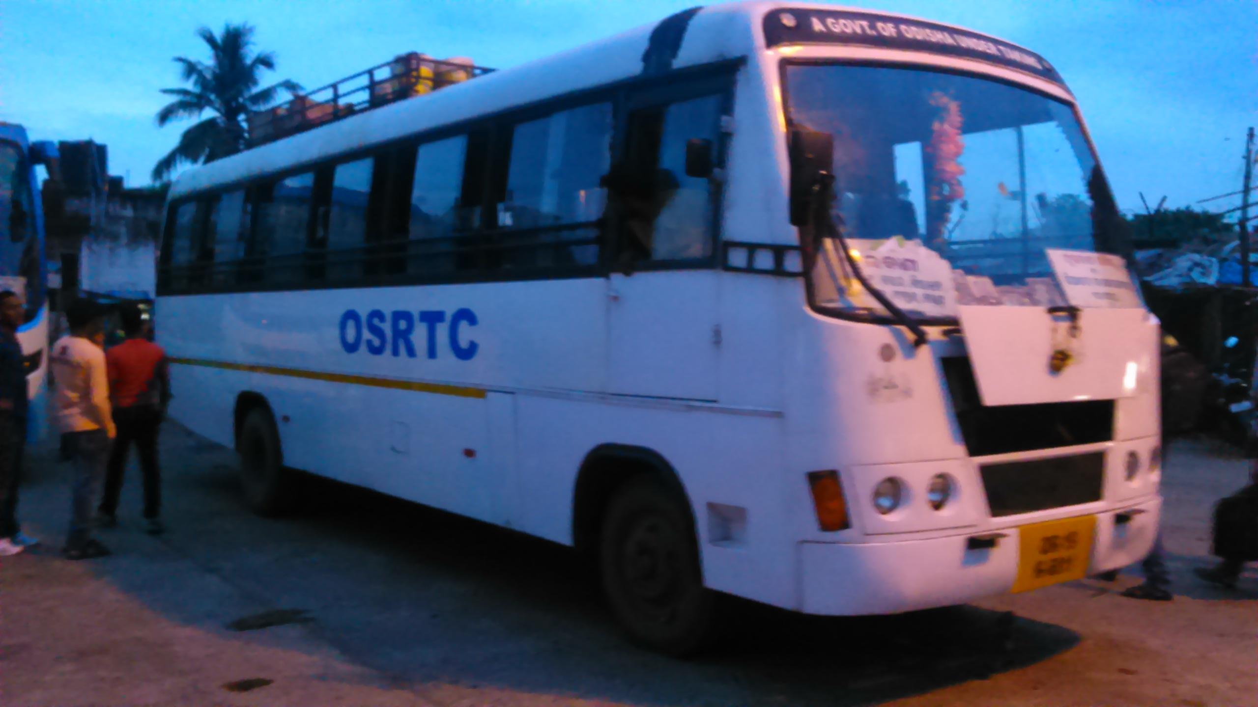 OSRTC buses bhubaneswar buzz