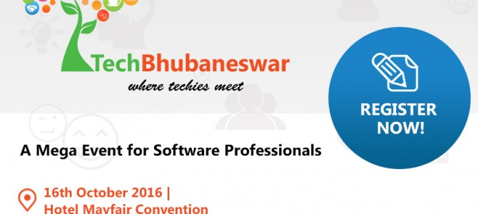TechBhubaneswar the First Ever Tech Conference in Bhubaneswar