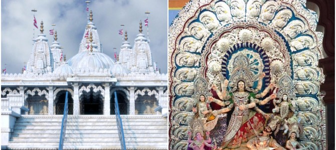 Saheed Nagar Durga Puja to feature Silver Filigree and Design similar to Delhi Swaminarayan Temple