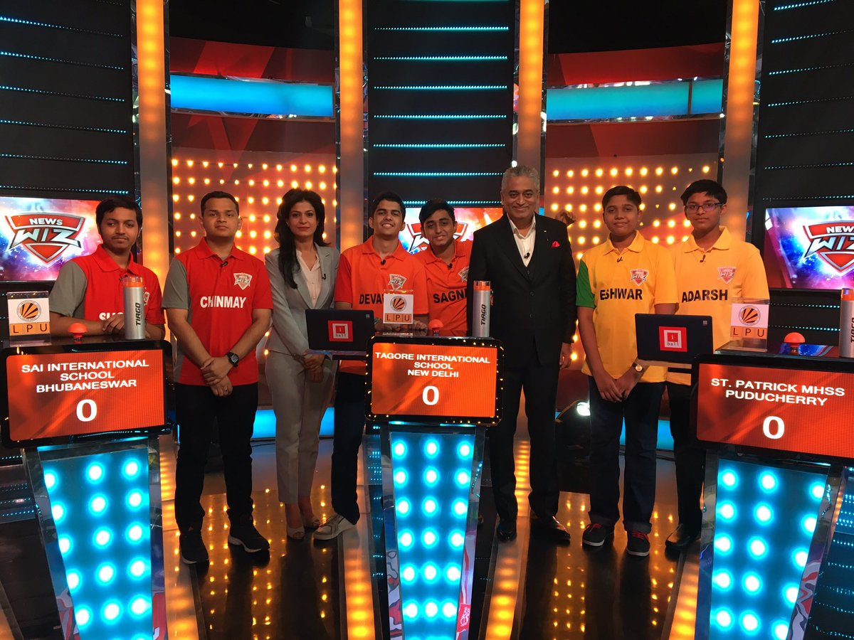 Sai international reach finals of IndiaToday Newswiz