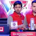 Sai international reach finals of IndiaToday Newswiz1