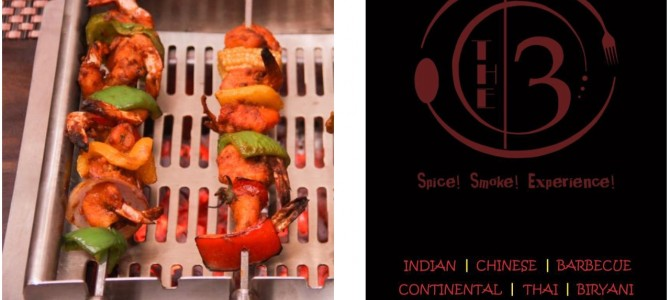 The 3 : A new restaurant in Bhubaneswar serving authentic Biryani and live grill Appetizers.
