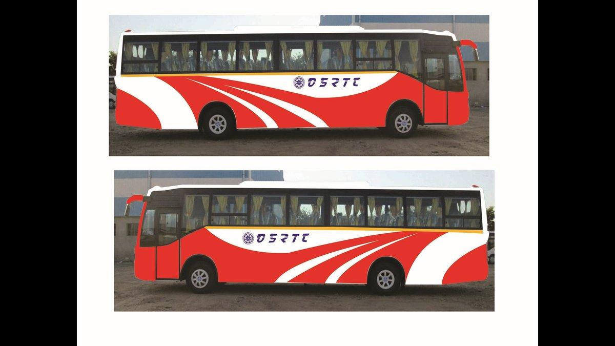 Volvo design OSRTC bhubaneswar buzz