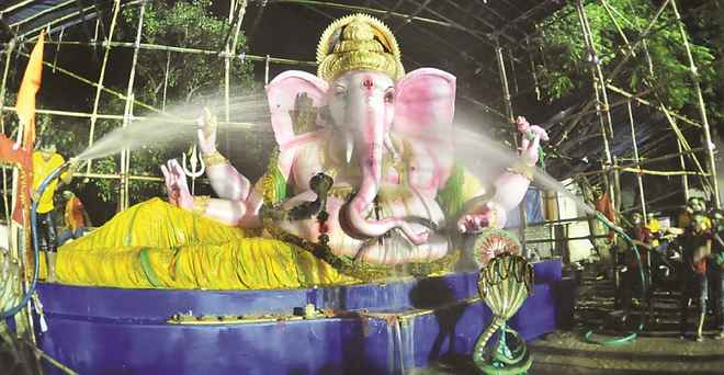 bhubaneswar ganesh puja bisarjan eco friendly