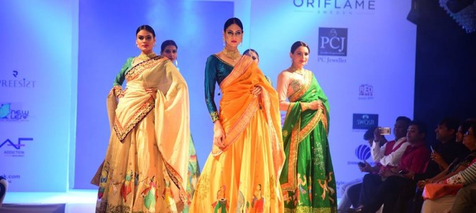 Bhubaneswar Style Week : When Pattachitra art made into the ramp walk
