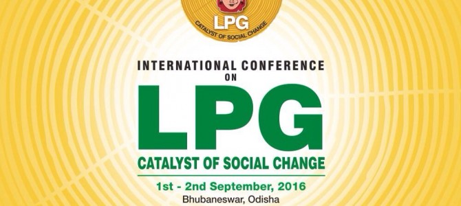 India's First international conference on LPG cooking gas starts in Bhubaneswar today