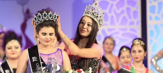 Ankita from Bhubaneswar becomes First Runners up in Mrs India Home Makers to represent India in China