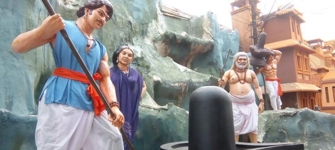 Visited the Bahubali Movie Themed Durga Puja Pandal in Bhubaneswar yet?