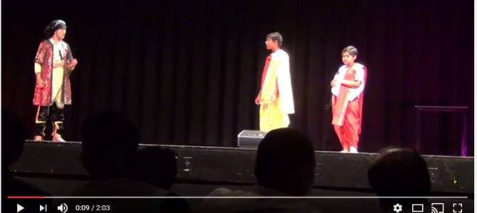 Nice to see Kids in Canada Odisha Society of Americas celebrate Kumar Utsav with Odia play