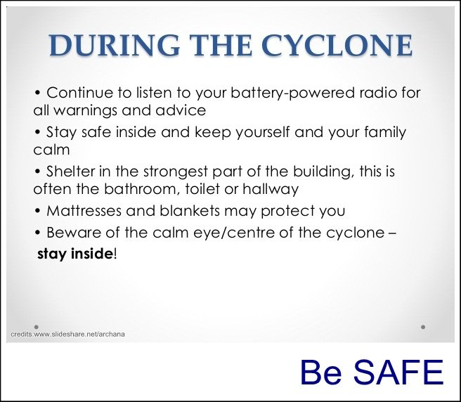 Emergency kit cyclone instructions 3