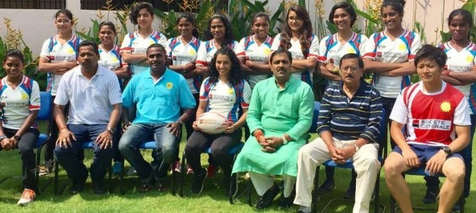 Odisha girls represent 40% of Indian Womens Rugby team to represent country in Colombo in Asian Rugby
