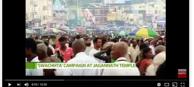 Penalty on Littering around Puri Jagannath Temple starts November 1: Video by NDTV