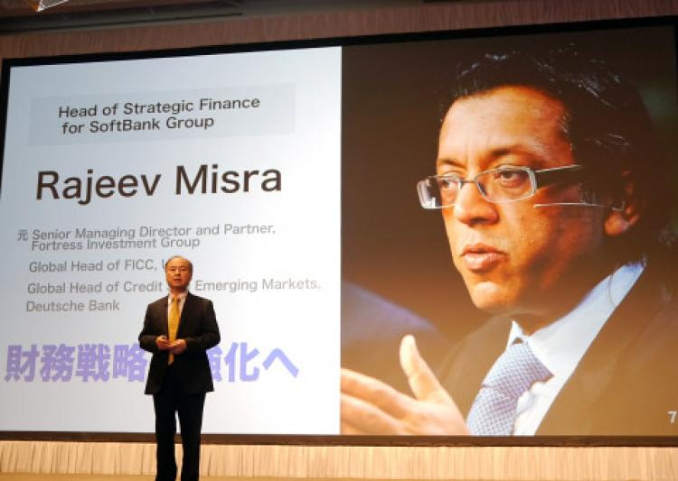 Rajeev Misra softbank head bhubaneswar buzz