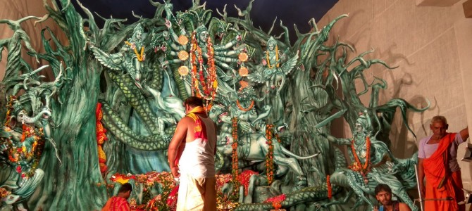 A virtual tour of Rourkela Durga Puja Pandals via the lens of Rakesh Paul