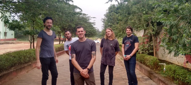 UK based Band Wild Palms rocked at KIITS University bhubaneswar