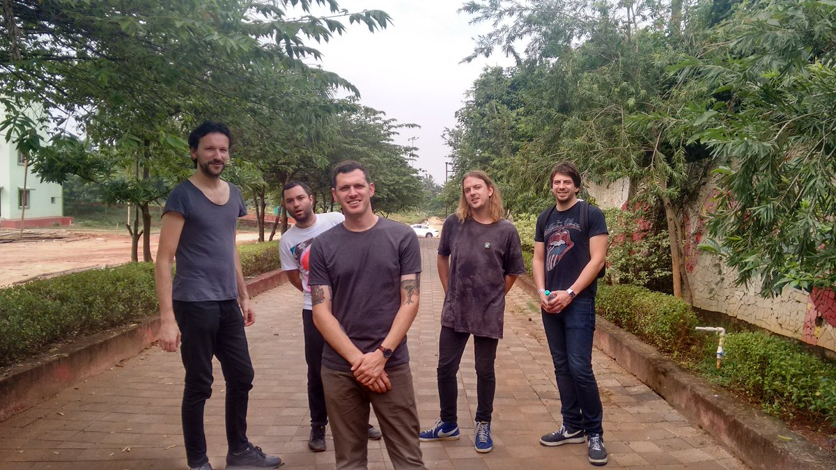 UK band wild palms comes to bhubaneswar buzz KIITs 2