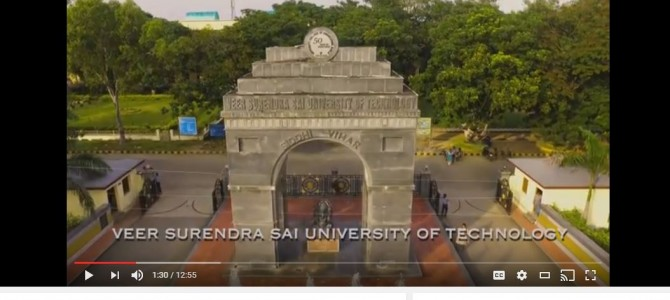 Beautiful Video : Know more about First Engineering College of Odisha VSSUT Burla
