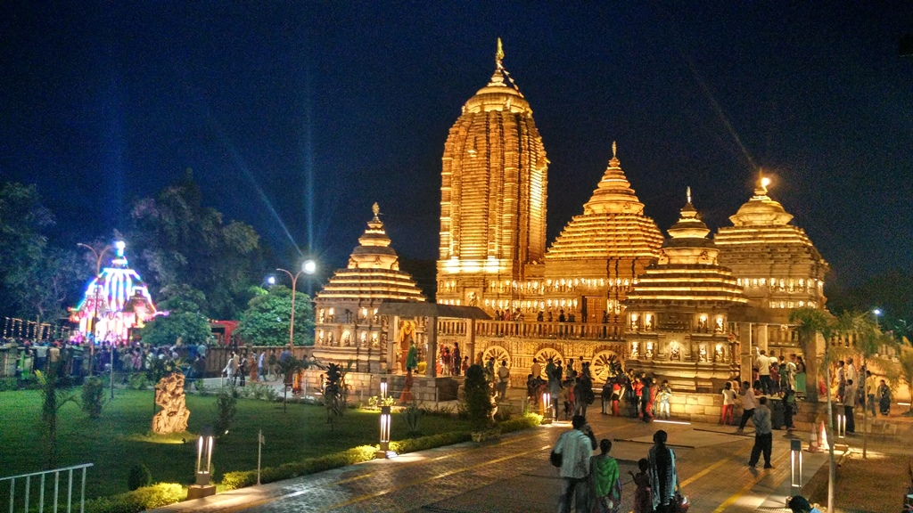 Balasore Jagannath Temple recently built