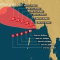 cyclone track skymet weather