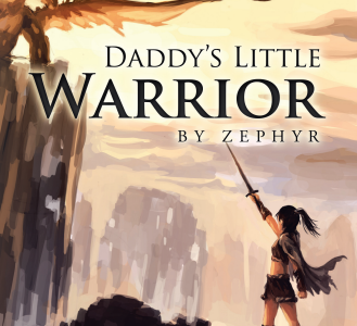 Introducing Novel Daddy's Little Warrior by Zephyr : written by Shreyasta Samal of Odisha