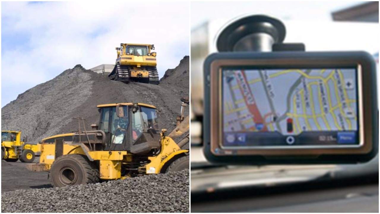 GPS in mineral transport vehicles in odisha