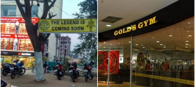 International Brand GOLD GYM with 3.5 million members is launching in Bhubaneswar in december