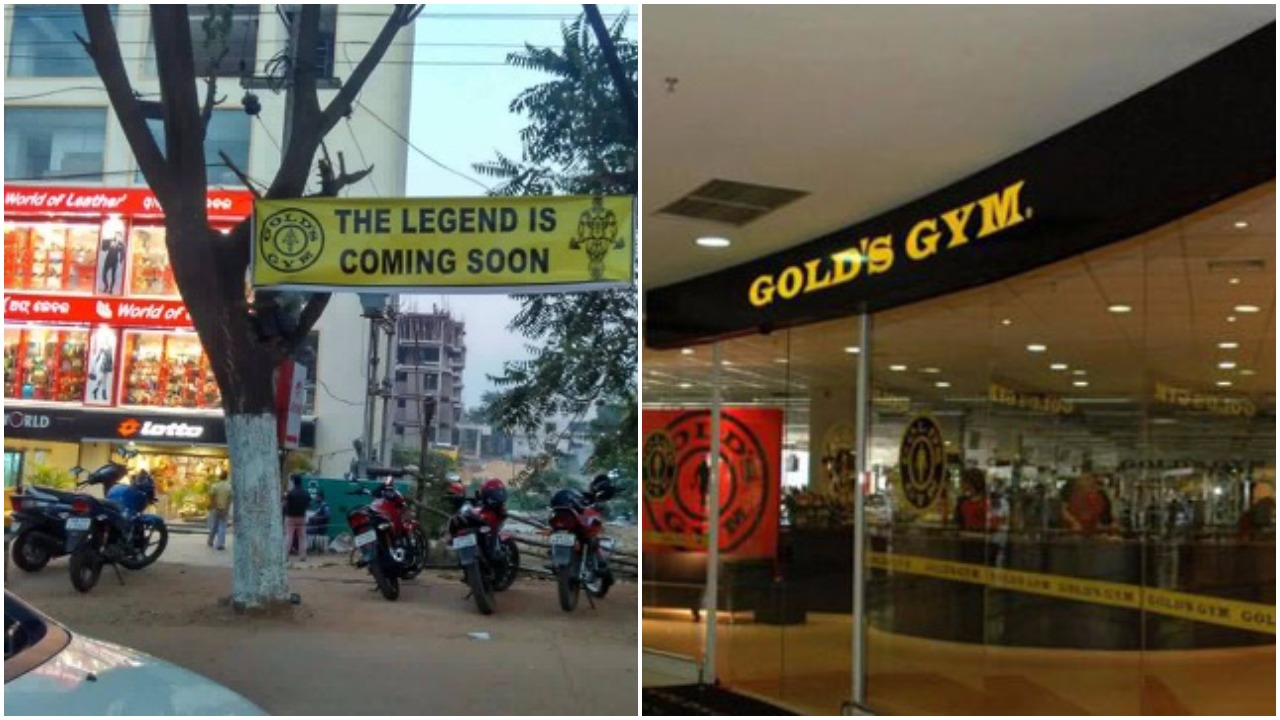 Gold's gym patia bhubaneswar buzz